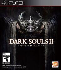 NEW Dark Souls II 2 Scholar of the First Sin (Sony PlayStation 3, 2015)