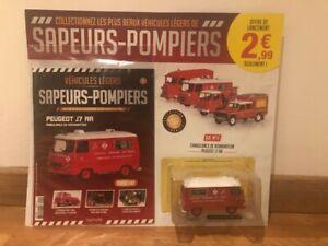 Miniature hachette pompier J7 ambulance reanimation BSPP