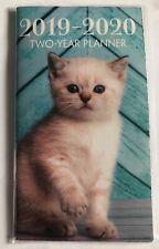 2019- 2020 Kitten Two Year Planner Pocket Calendar Organizer Kitten Cat