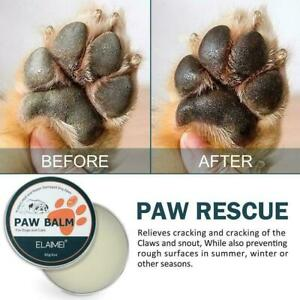 Pet Paw Cream For Cats And Dogs Paws, Nose And Soles Cream 60g Moisturizing O9T9