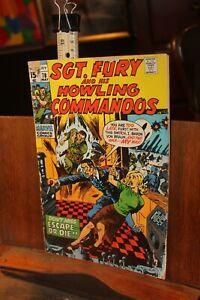 ROUGH 1970 Marvel Sgt. Fury Howling Commandos No.78