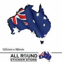 Australian map Flag car sticker decal popular sticker car window