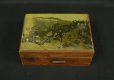 Vintage Hollywoodland Wooden Box, Dedication Day Photo