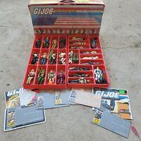 Vintage GI Joe Lot (figures, accessories, file cards)