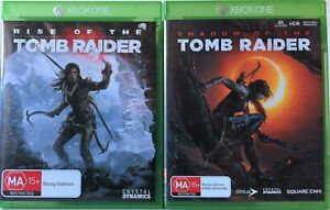 Rise Of TheTomb Raider and Shadow Of The Tomb Raider Game Bundle Xbox One