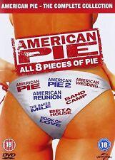 American Pie Complete 1-8 DVD Box Set All Movie Films 1 2 3 4 5 6 7 8 New UK R2