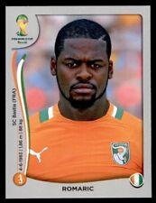 Panini World Cup 2014 (Swiss Platinum Version) Romaric Ivory Coast No. 235