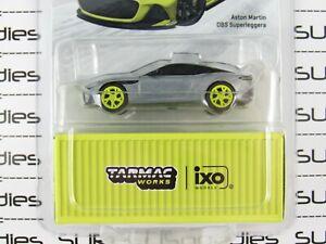 Tarmac Works 2021 Global64 Yellow ASTON MARTIN DBS SUPERLEGGERA *Chase* RAW