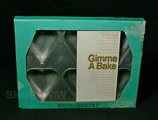 Vintage Wilton Armetale Gimme A Bake Heart Shaped Baking Mold 1995  New