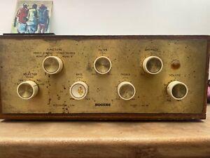 Vintage Rogers HG88 Valve Amplifier.