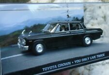 007 JAMES BOND Japanese Toyota CROWN - You only live twice 1:43 BOXED Car Model