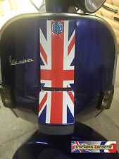 Horn Cover Cast Sticker Graphic Fits Vespa PX T5 LML Red Union Jack Decal HC2