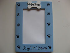 MEMORY DOG - ANGEL IN HEAVEN custom personalized pet loss photo picture frame