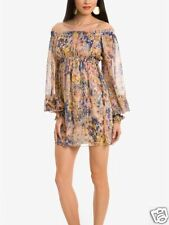 $228 NWT MARCIANO GUESS LIMITED EDITION CHERRY BLOSSOM DRESS SIZE XS LAST1