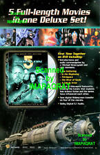 Babylon 5 - 5 Movies Deluxe Set Dvd Release Print Ad