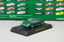Kyosho 1/64 Lotus Europa Special Green British Miniature car Collection 2006