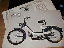 benelli  GENTLEMAN-      ( brochure- prospekt - depliant )