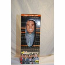 Nsynch 2001 Bobble Head Justin Timberlake Bobble Head Certificate  Authenticity