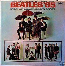 """BEATLES '65"" LP 1965 MONO EARLY PRESSING NICE!!"