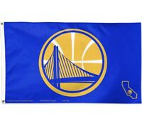 Golden State Warriors 3x5 Banner Flag Basketball NBA Grommets New