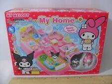NEW! MY MELODY MY HOME MINI PLAYSET SANRIO 2007 KUROMI HOUSE FIGURES U.S. SELLER