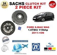 FOR FORD S-MAX WA6 1.6 TDCi 115 bhp 2011-ON SACHS 2 PIECE CLUTCH KIT OE QUALITY