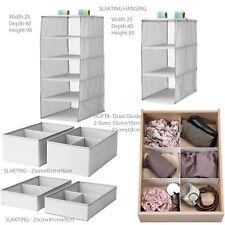 ikea hofta slakting adjustable draw divider lipstick cloth items organiser box