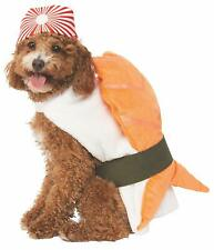 Sushi Dog Costume & Hat - MEDIUM - Japanese Food - Halloween - Rubie's - NWT