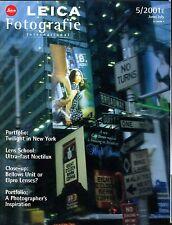 Leica Fotografie International Magazine June/July 2001 Noctilux EX 032117lej