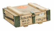 Boîte Munitions 7.62slepe Coffre de rangement militärkiste en bois