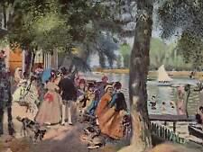 La Grenouillère by Pierre-Auguste Renoir Canvas Print 12''x16''