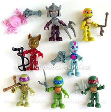 ~ KINDER Joy - Ninja TURTLES - Surprise Egg Toy - 8 FIGUREs set - HK BPZ