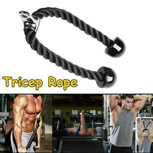 3CM Thick Heavy Duty Training Tricep Rope Fitness Cable Pulldown Push Machine