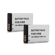 2000mAh GPS Battery For Garmin Montana Alpha 010-11654-03 Virb 600 600T 650 650T