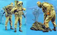 1/35 Resin GRU Russian Special Forces 3 Soldiers Set Unpainted Unassembled BL660