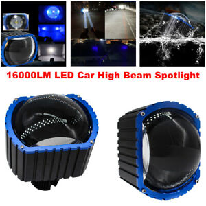 12-36V LED Car High Beam Projective Lens Headlight Fog Lamp Waterproof Spotlight