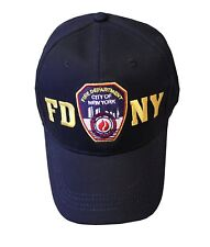 NYC FACTORY FDNY Baseball Hat Police Badge Fire Department Of New York City...