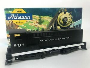 Athearn 3726 New York Central Baldwin S12 Dummy Train Engine Kit HO Vintage NEW