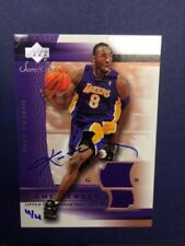 Original Autographed Los Angeles Lakers Basketball Trading Cards