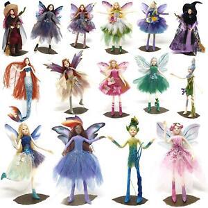 Tassie Fairy Family Collectable Ornament Mermaid Forest Fairies Elf Figurine