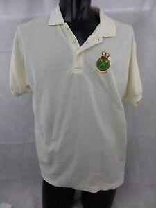 HMS ARROW Embroidered Polo Shirt Size  L T9J Mens Tshirt
