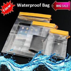 3X Waterproof Dry Bags For Camera Mobile Phone Pouch Backpack Kayak Military UK