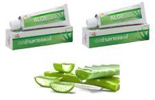 Aloe vera healing gel for burns acne sunburn scars heal swell moisturizing 2x30g