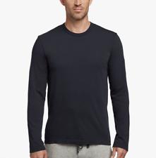 James Perse Men's Deep Blue Premium Long Sleeve Crew Neck T-Shirt Size 2 MLJ3351