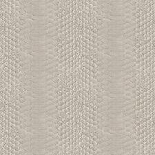 MURIVA SNAKE SKIN PATTERN ANIMAL PRINT FAUX EFFECT TEXTURED VINYL WALLPAPER TAUP