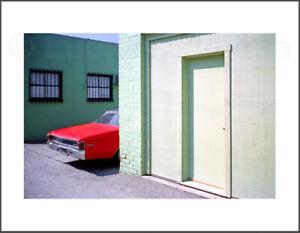 COLOR Photograph - RED MALIBU MANHATTAN BEACH -  8.5X11 Archival Print