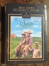 Hallmark Hall of Fame Sarah Plain and Tall  DVD  New Free Ship Glenn Close Chri