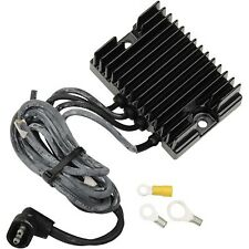 Compu-Fire - 55120 - 32A Voltage Regulator, Black Finned Harley-Davidson Softail