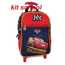 ZAINO SCUOLA ASILO TROLLEY CARS 35X26X12 COD 8024708599453 NUOVO C/ETICHetta