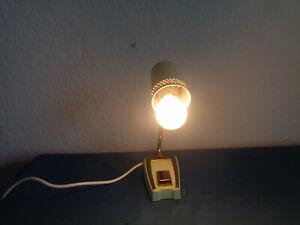 TischLampe Design Klassiker 60 er Teleskop Lampe grün Vintage HH 17 cm